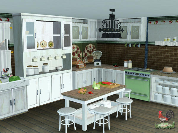 Best ideas about Sims 3 Kitchen Ideas . Save or Pin Custom Sims 3 Country Kitchen Now.