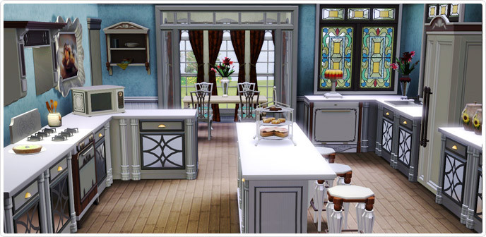 Best ideas about Sims 3 Kitchen Ideas . Save or Pin Edwardian Expression Kitchen Set Store The Sims™ 3 Now.