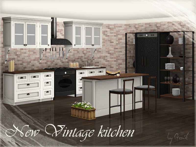Best ideas about Sims 3 Kitchen Ideas . Save or Pin Gosik s New Vintage kitchen part 2 Now.