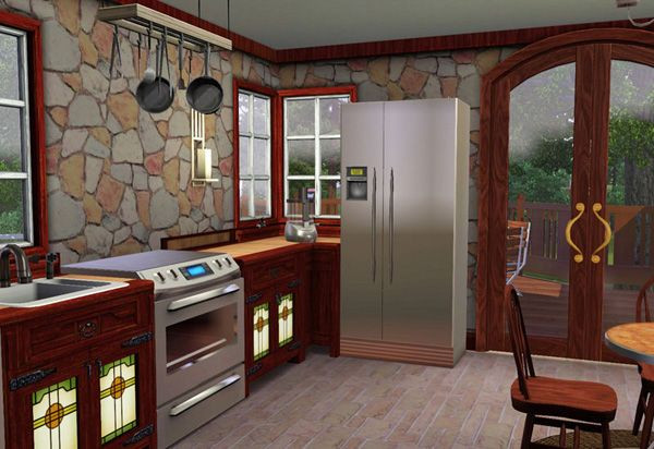 Best ideas about Sims 3 Kitchen Ideas . Save or Pin Sims 3 Craftsman Style Cottage Kitchen patible with Now.