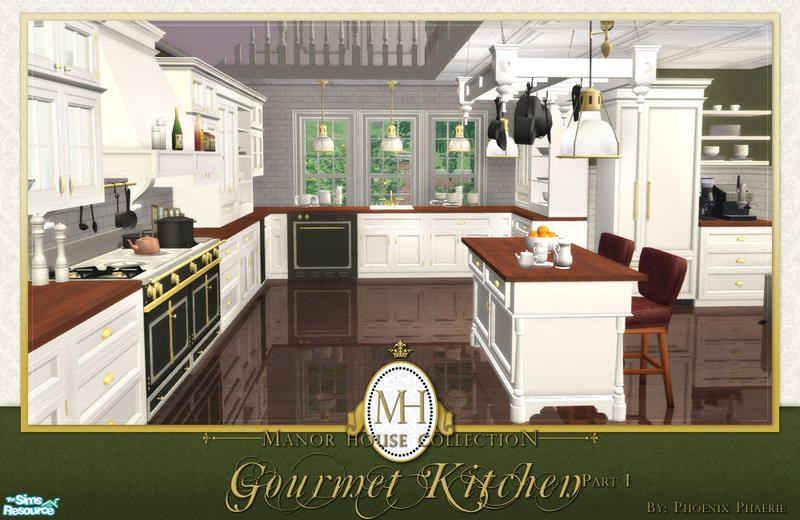 Best ideas about Sims 3 Kitchen Ideas . Save or Pin phoenix phaerie s Manor House Collection Gourmet Kitchen Pt I Now.