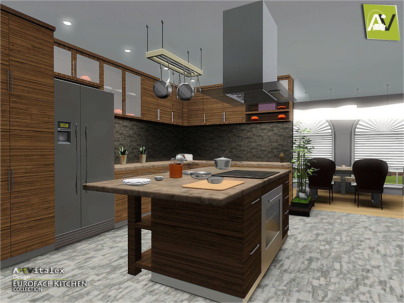 Best ideas about Sims 3 Kitchen Ideas . Save or Pin ArtVitalex s Euroface Kitchen Now.