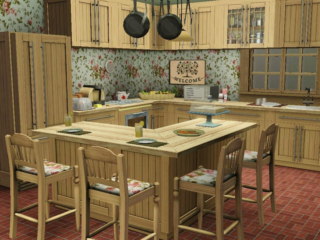 Best ideas about Sims 3 Kitchen Ideas . Save or Pin Cute and shabby country kitchen design created in the Now.