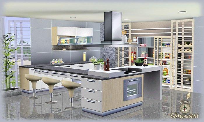 Best ideas about Sims 3 Kitchen Ideas . Save or Pin OBJnoora SIMc Don FormFunction Kitchen Now.