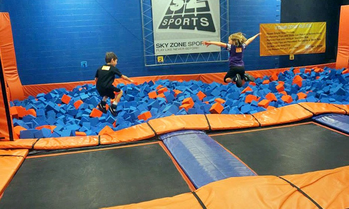 Best ideas about Sky Zone Birthday Party Coupons . Save or Pin Sky Zone Kansas City in Shawnee KS Now.