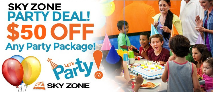 Best ideas about Sky Zone Birthday Party Coupons . Save or Pin Sky Zone Elmhurst Birthday Party Discount Coupon Now.