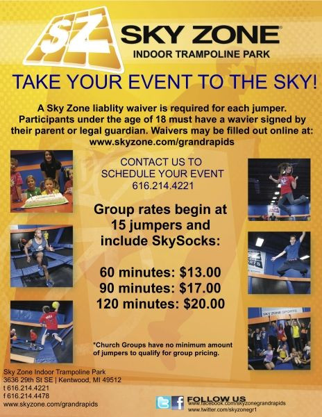 Best ideas about Sky Zone Birthday Party Coupons . Save or Pin 17 Best images about Peter s birthday ideas on Pinterest Now.