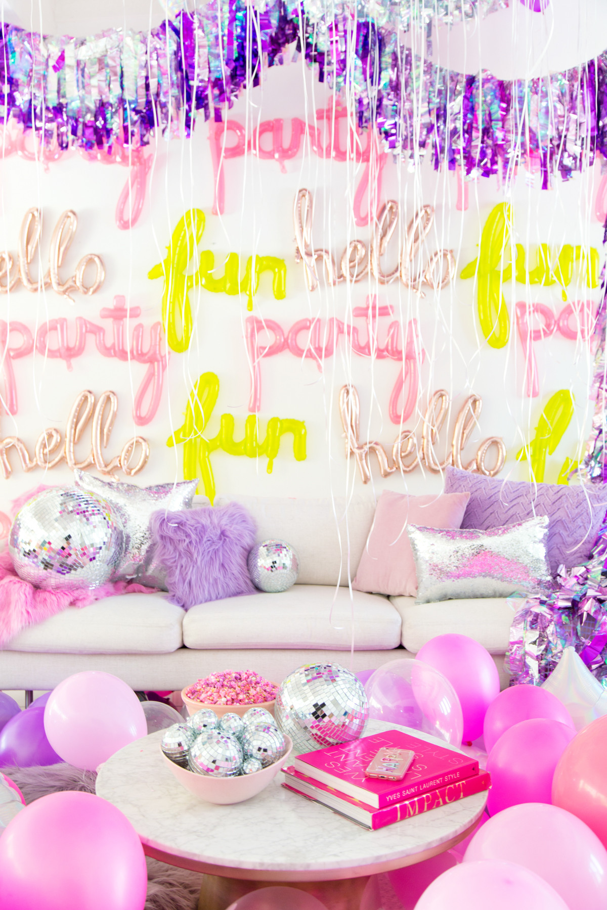 Best ideas about Sleepover Birthday Party . Save or Pin No Boys Allowed A Holographic Neon Slumber Party Now.