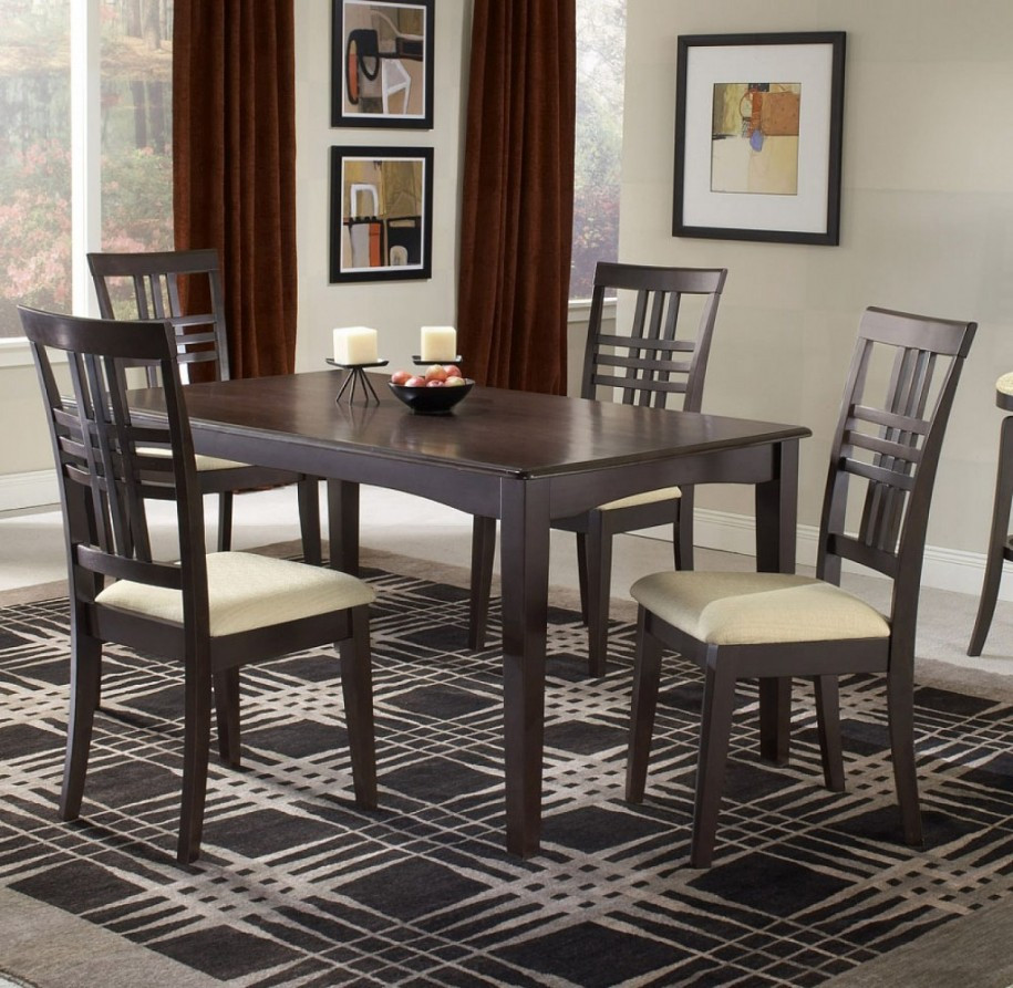 Best ideas about Small Dining Room Sets . Save or Pin Extravagant Small Dining Room Sets Modern Style Wooden Now.