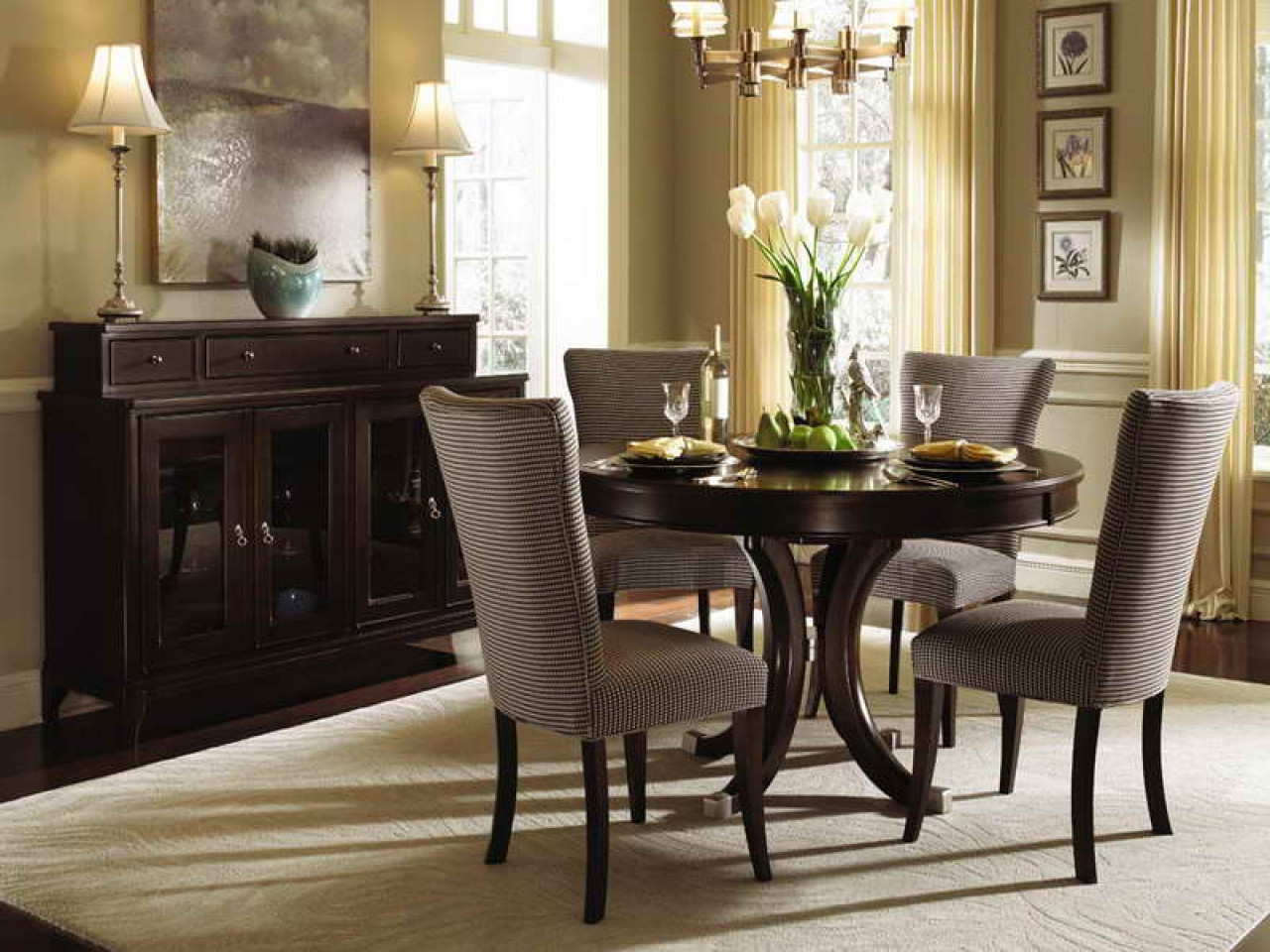 Best ideas about Small Dining Room Sets . Save or Pin Small Room Design small round dining room tables Small Now.
