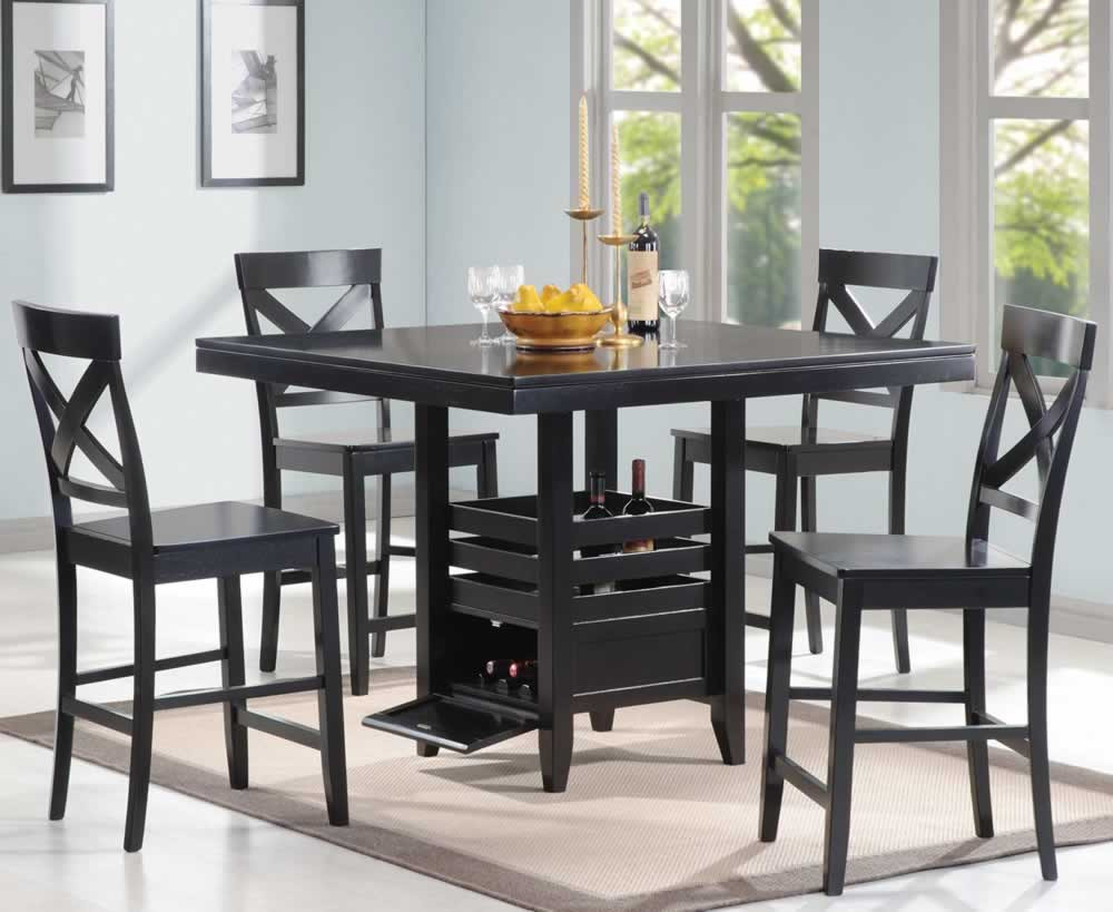 Best ideas about Small Dining Room Sets . Save or Pin Dining Room awesome black dining room table sets design Now.