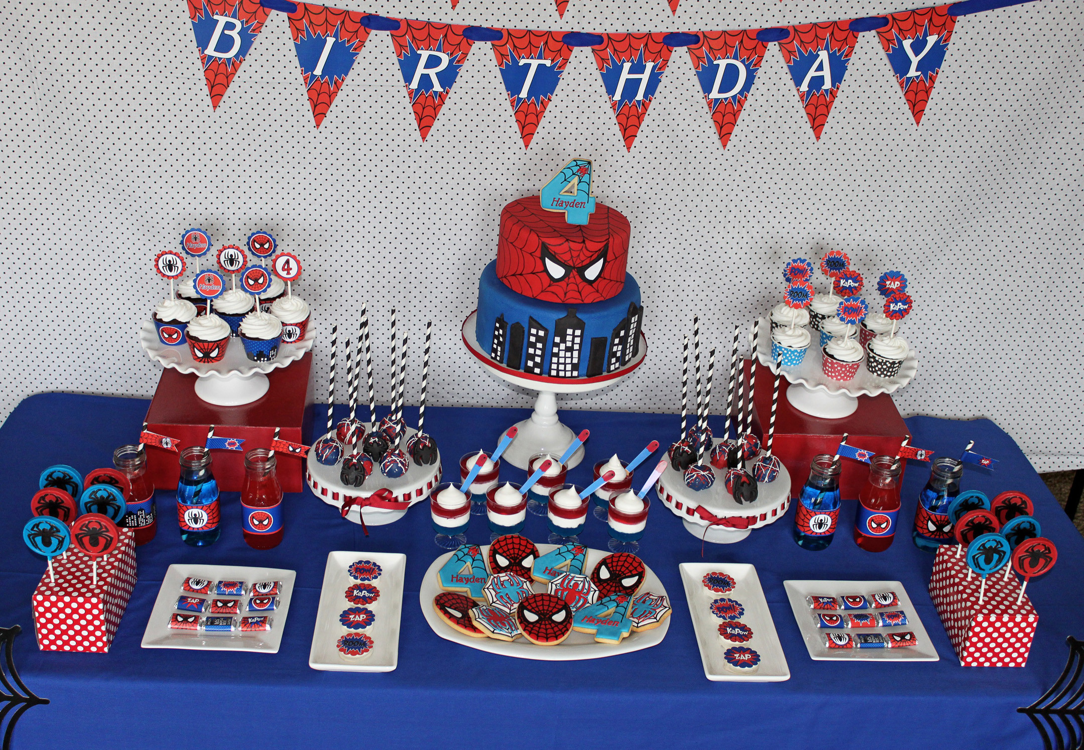Best ideas about Spiderman Birthday Party . Save or Pin Hayden's Spiderman Party Now.