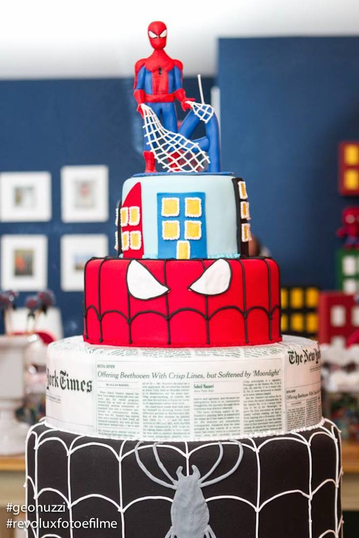 Best ideas about Spiderman Birthday Party . Save or Pin Kara s Party Ideas Spiderman Themed Birthday Party Idea Now.