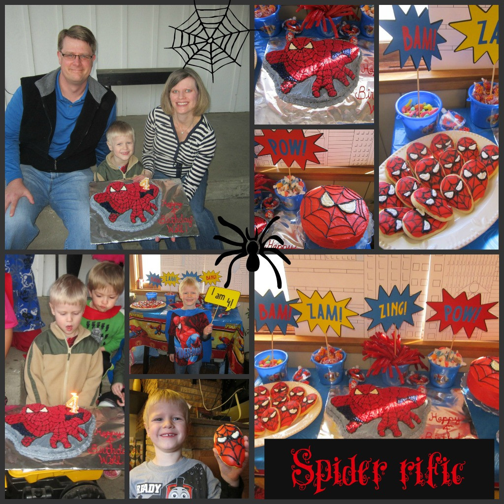 Best ideas about Spiderman Birthday Party . Save or Pin Spiderman Birthday Party Part 3 Cake and Cookies Now.