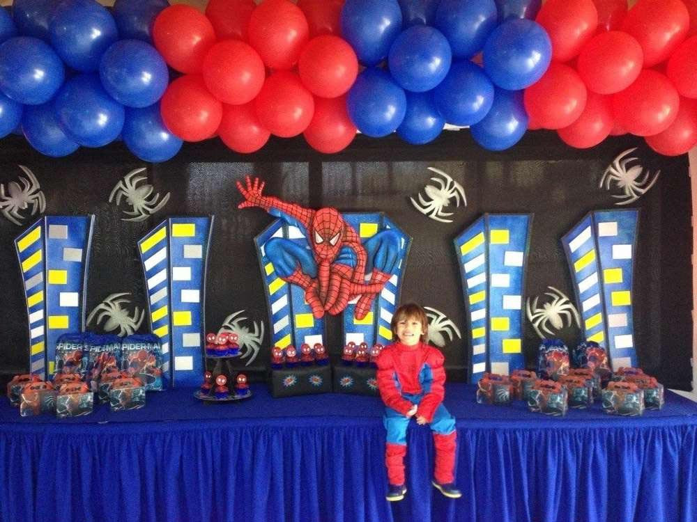 Best ideas about Spiderman Birthday Party . Save or Pin Spiderman Birthday Party Now.