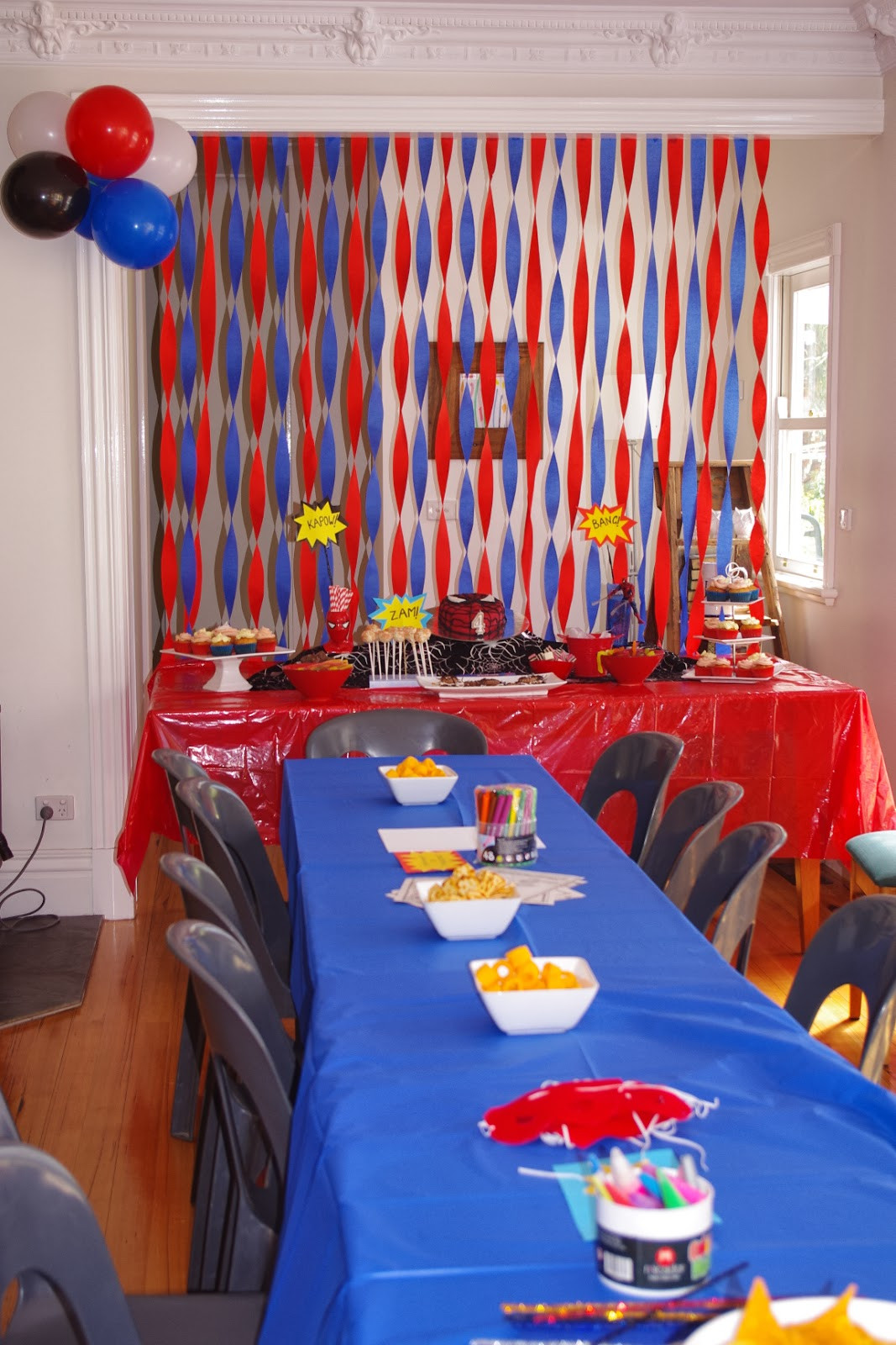 Best ideas about Spiderman Birthday Party . Save or Pin the nOATbook Spider man party on a bud Now.