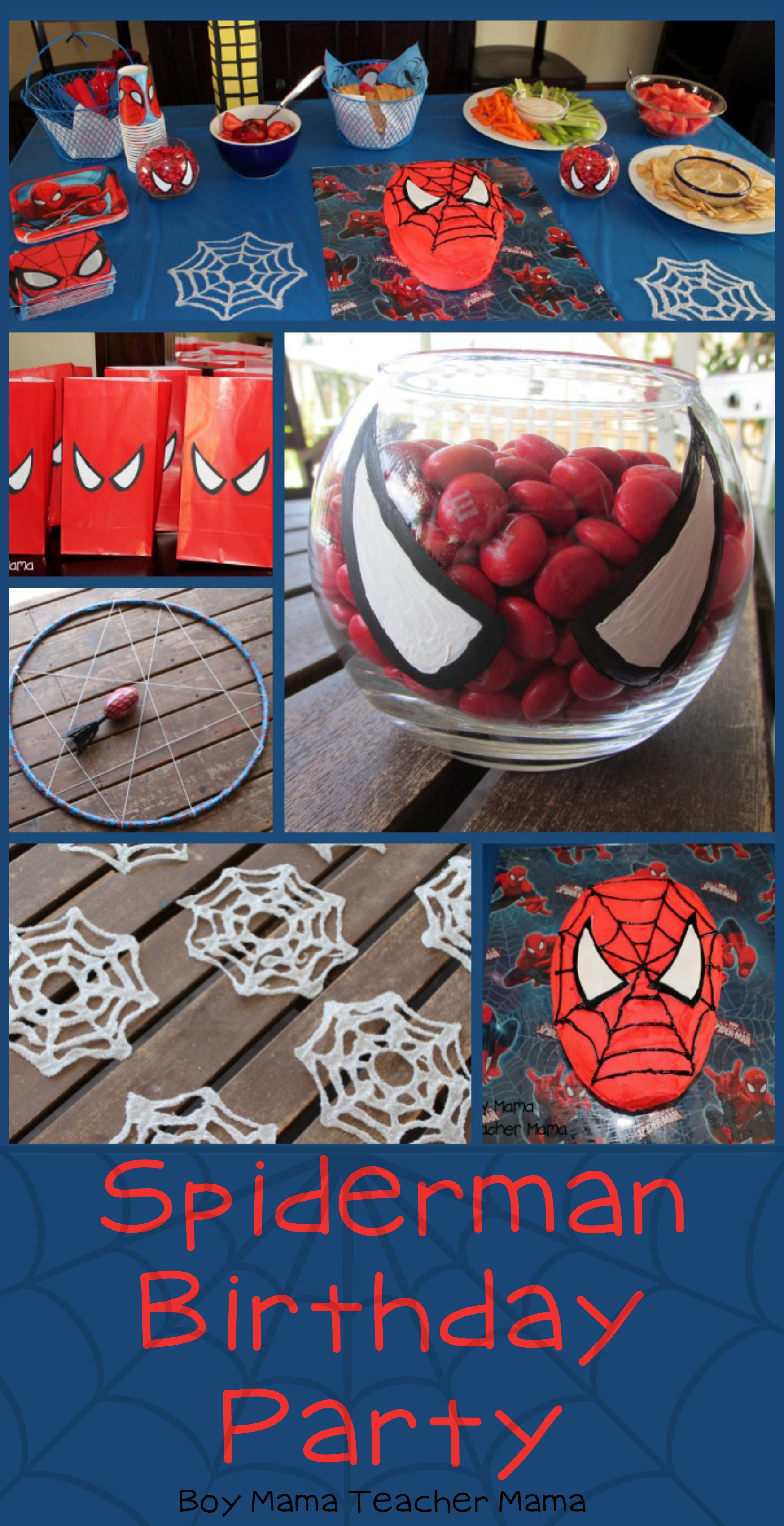 Best ideas about Spiderman Birthday Party . Save or Pin Boy Mama Spiderman Birthday Party Boy Mama Teacher Mama Now.
