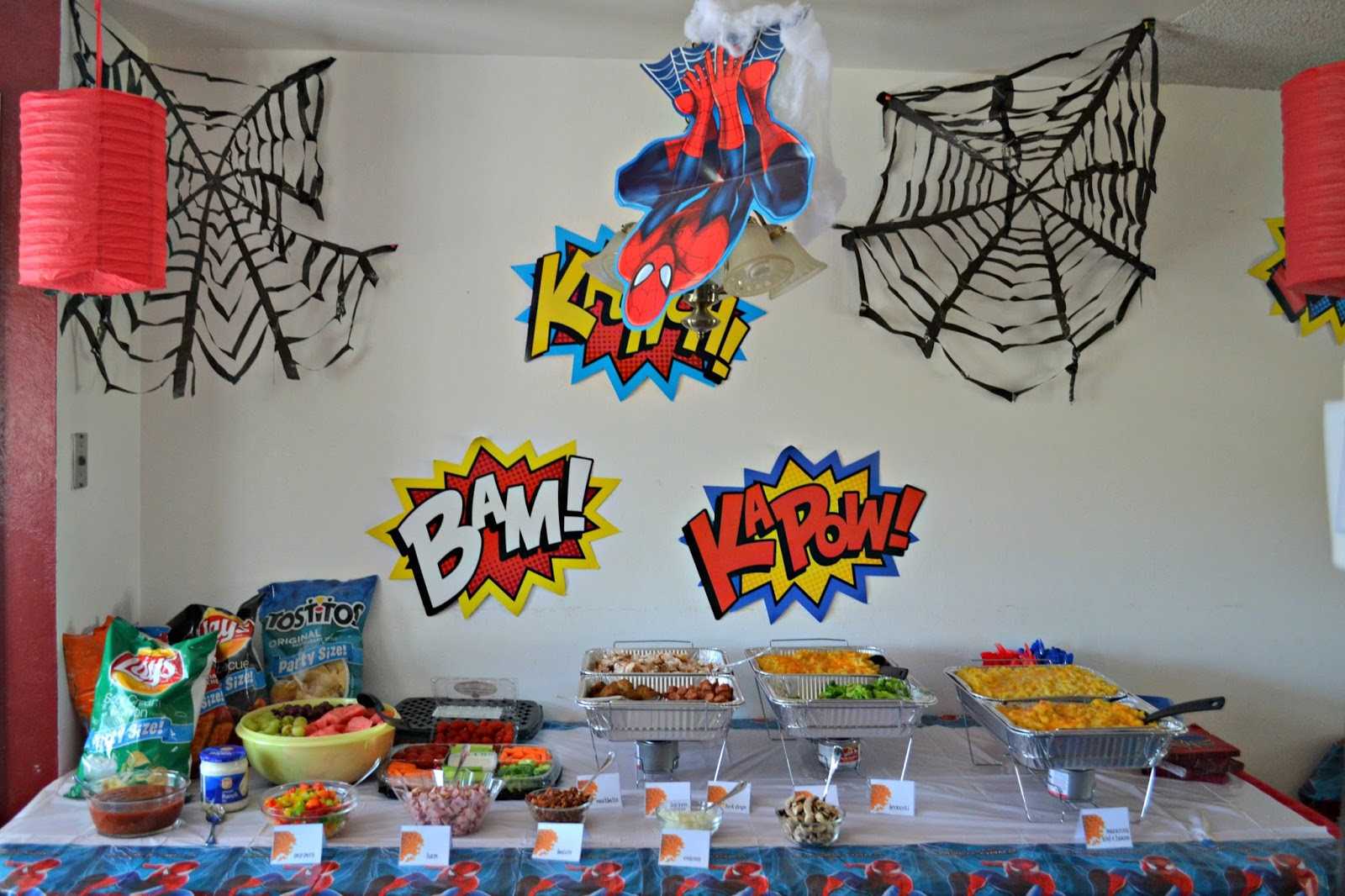 Best ideas about Spiderman Birthday Party . Save or Pin A Spidery Spider Man Birthday Party Now.
