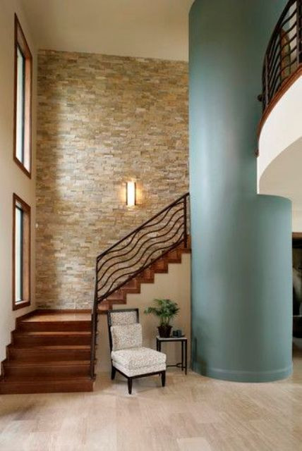 Best ideas about Stacked Stone Accent Wall . Save or Pin 31 Stone Accent Wall Ideas For Various Rooms DigsDigs Now.