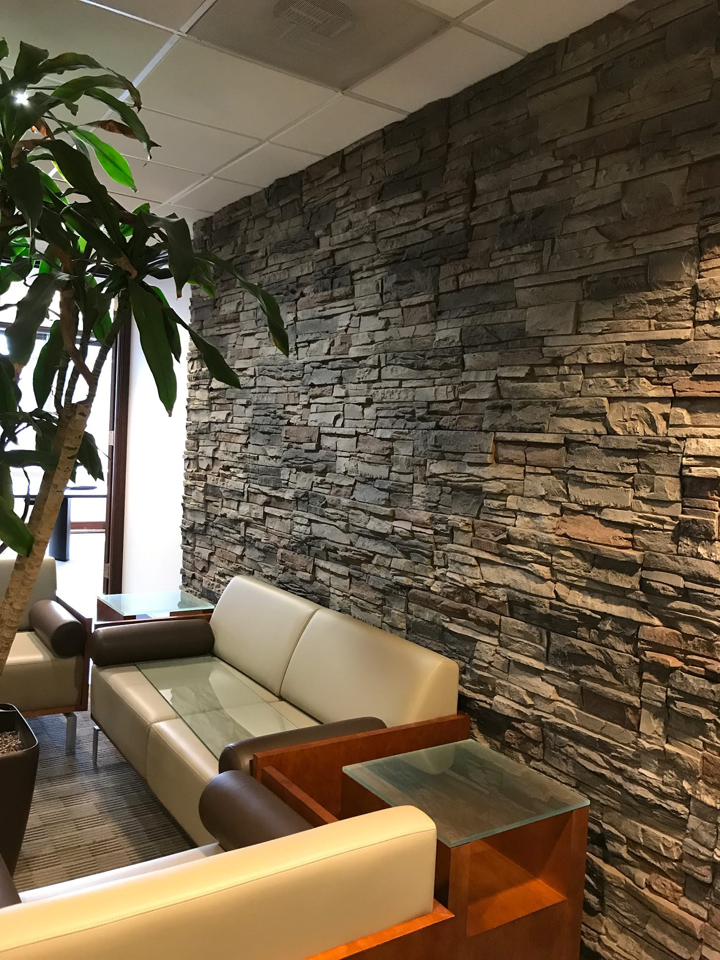 Best ideas about Stacked Stone Accent Wall . Save or Pin Dry Stack Stone Kenai Now.