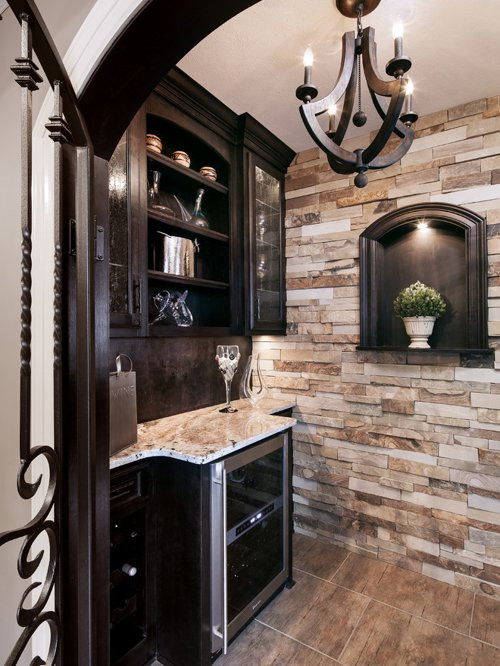 Best ideas about Stacked Stone Accent Wall . Save or Pin Stack Stone Accent Wall Ideas Remodel and Decor Now.