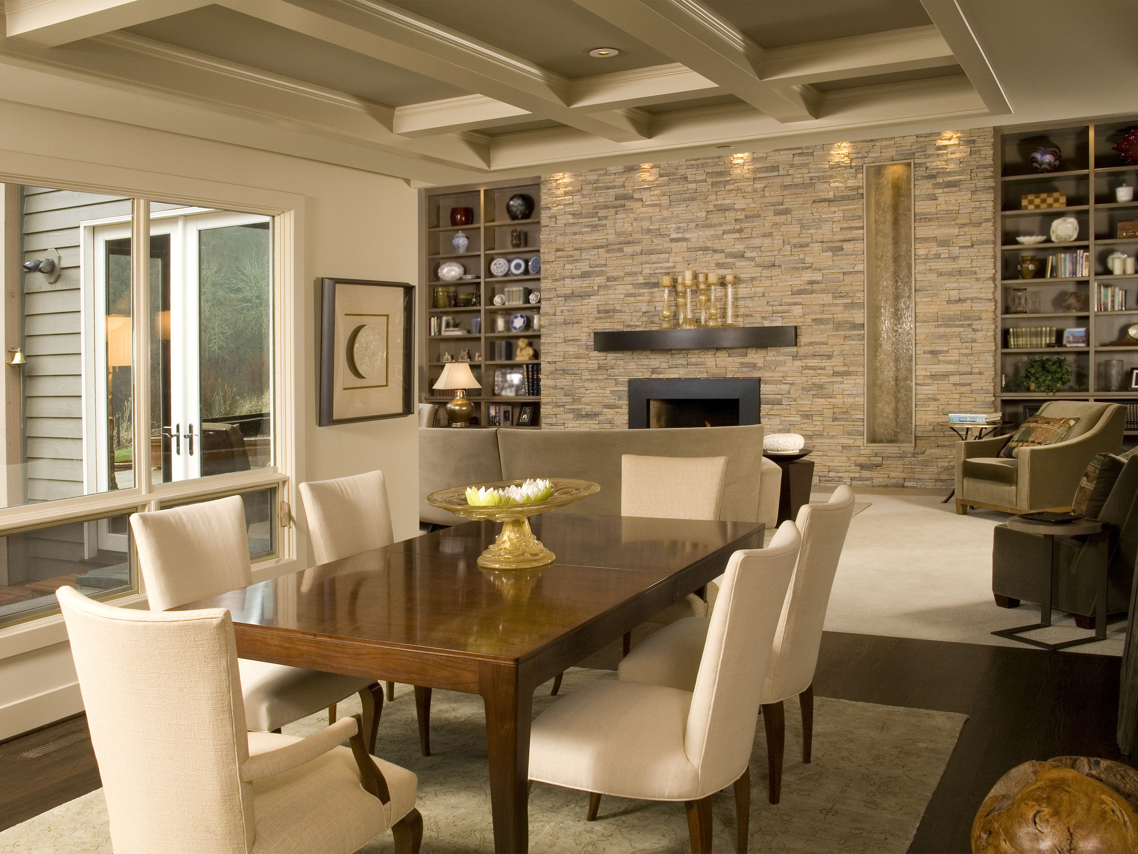 Best ideas about Stacked Stone Accent Wall . Save or Pin Eldorado Stone Accent Walls Alderwood Stacked Stone Now.
