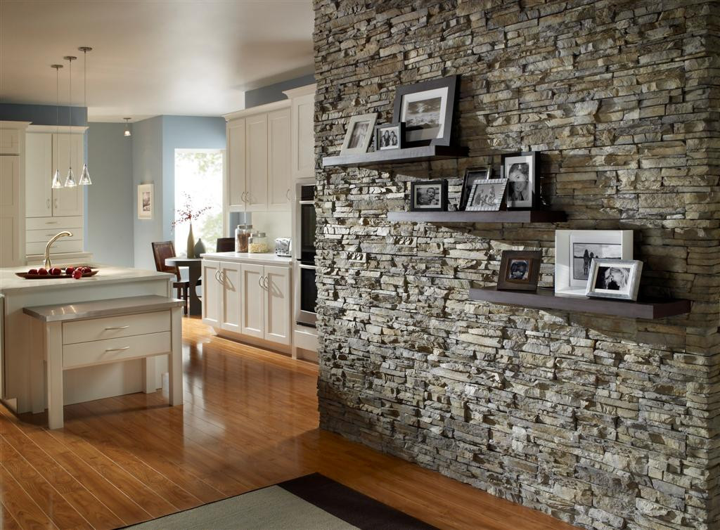 Best ideas about Stacked Stone Accent Wall . Save or Pin Stacked Stone For A Fireplace Now.