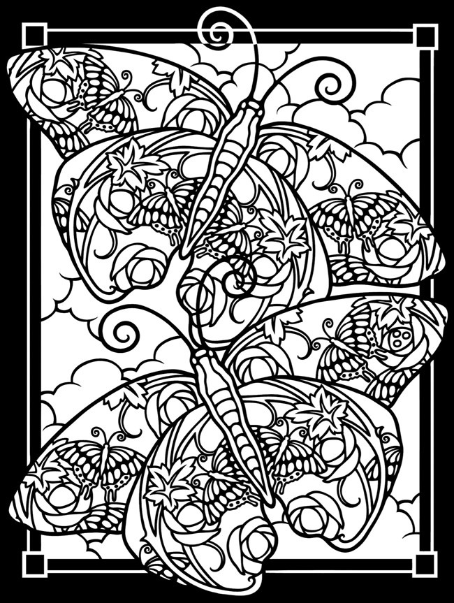 Best ideas about Stained Glass Free Coloring Pages . Save or Pin free printable stained glass coloring pages the flowers Now.