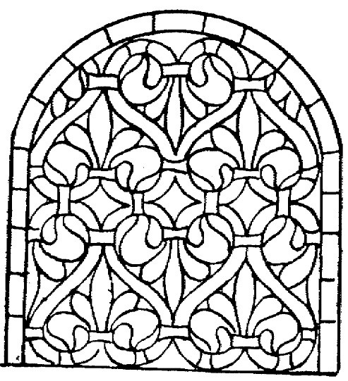 Best ideas about Stained Glass Free Coloring Pages . Save or Pin stained glass coloring pages little bird free printable Now.