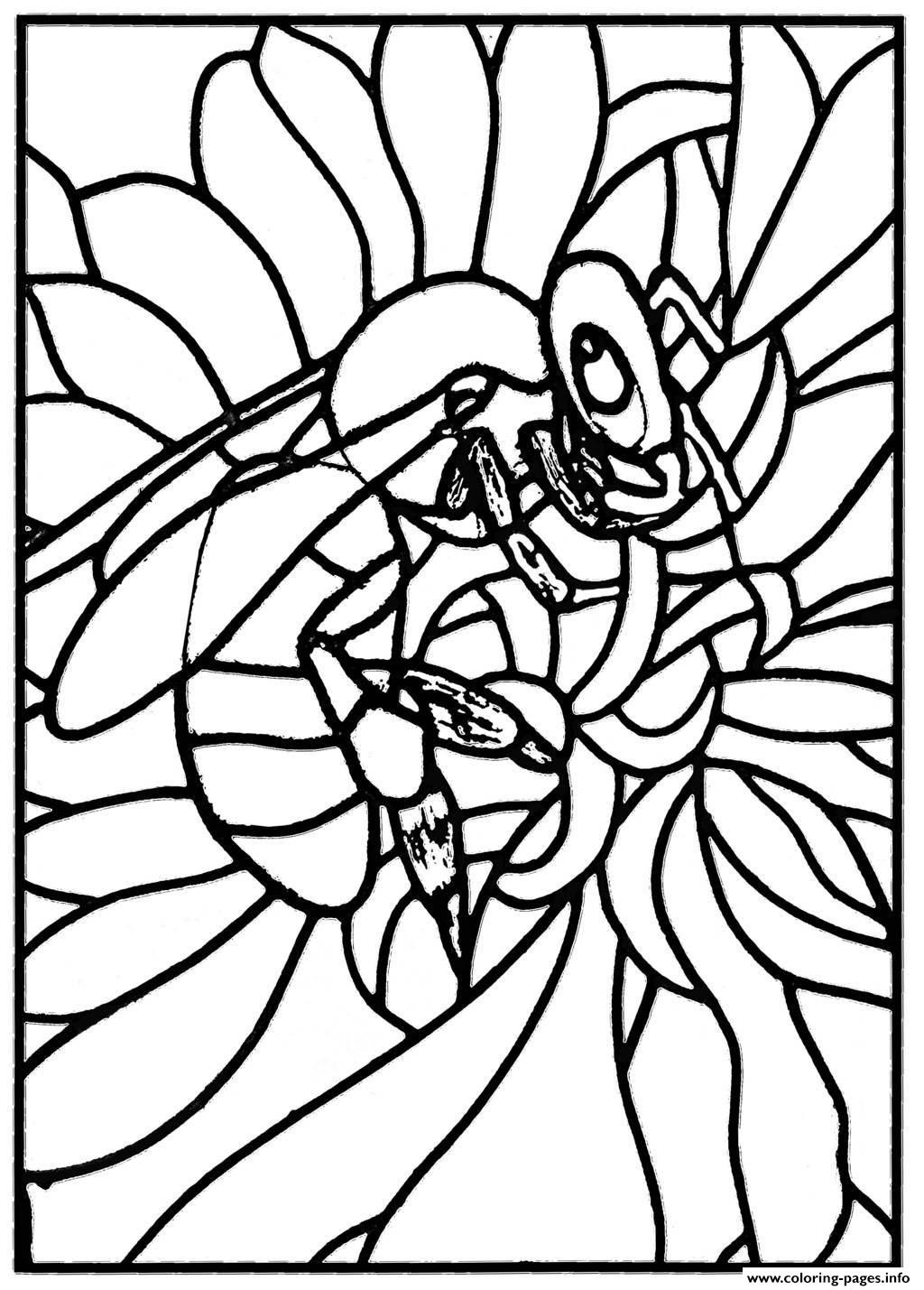 Best ideas about Stained Glass Free Coloring Pages . Save or Pin Stained Glass Coloring Pages coloringsuite Now.