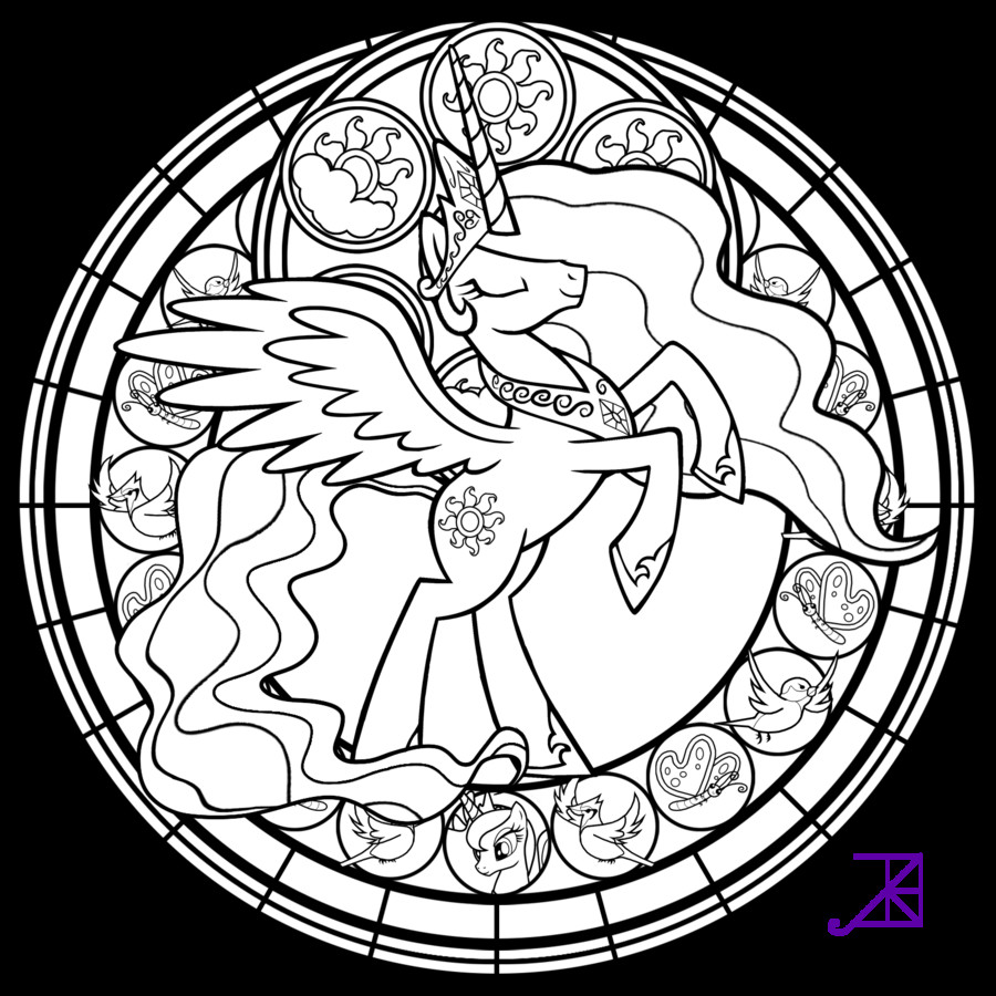 Best ideas about Stained Glass Free Coloring Pages . Save or Pin Simple Stained Glass Coloring Pages AZ Coloring Pages Now.