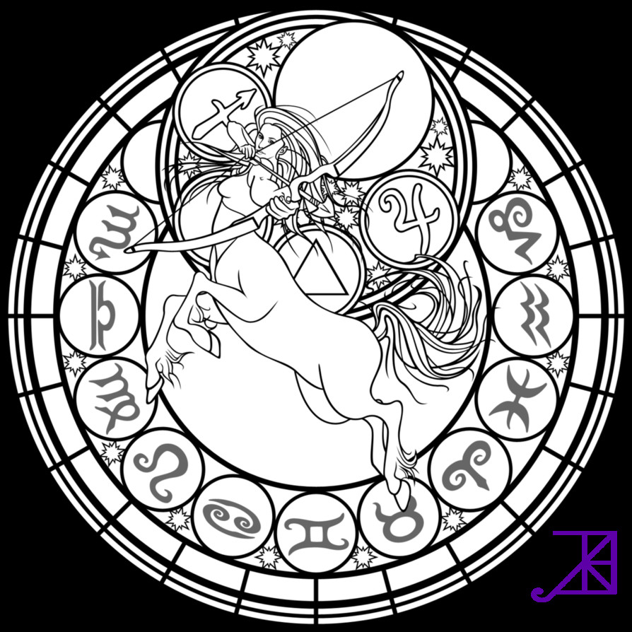 Best ideas about Stained Glass Free Coloring Pages . Save or Pin Printable Adult Coloring Pages Stained Glass AZ Coloring Now.
