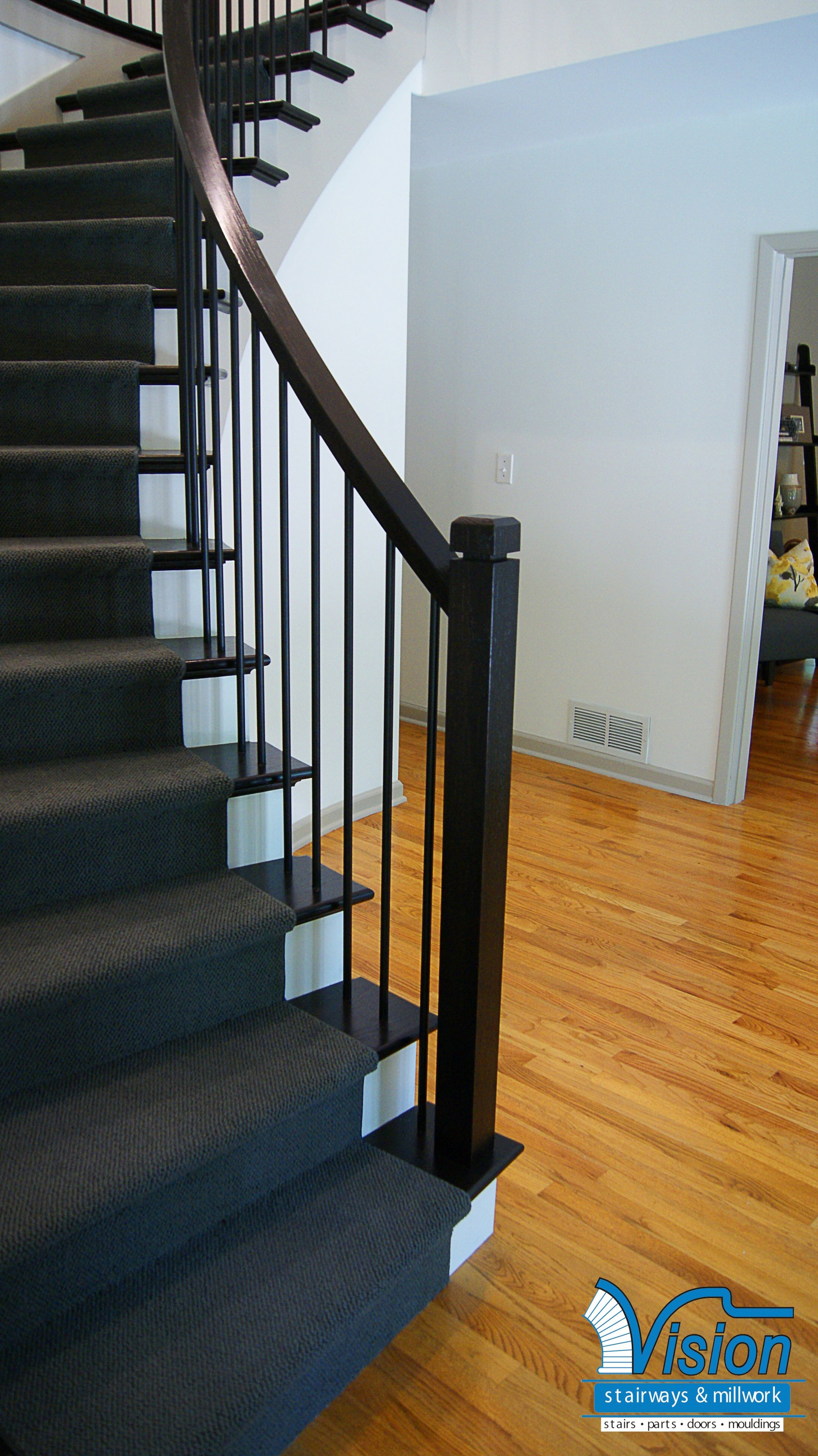 Best ideas about Staircase Railing Code . Save or Pin Lovely Basement Stair Railing Code furnitureinredsea Now.
