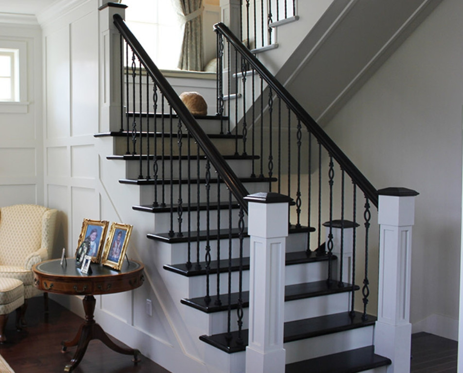 Best ideas about Staircase Railing Code . Save or Pin How Interior Stair Railings Can Help Your Home Look Now.