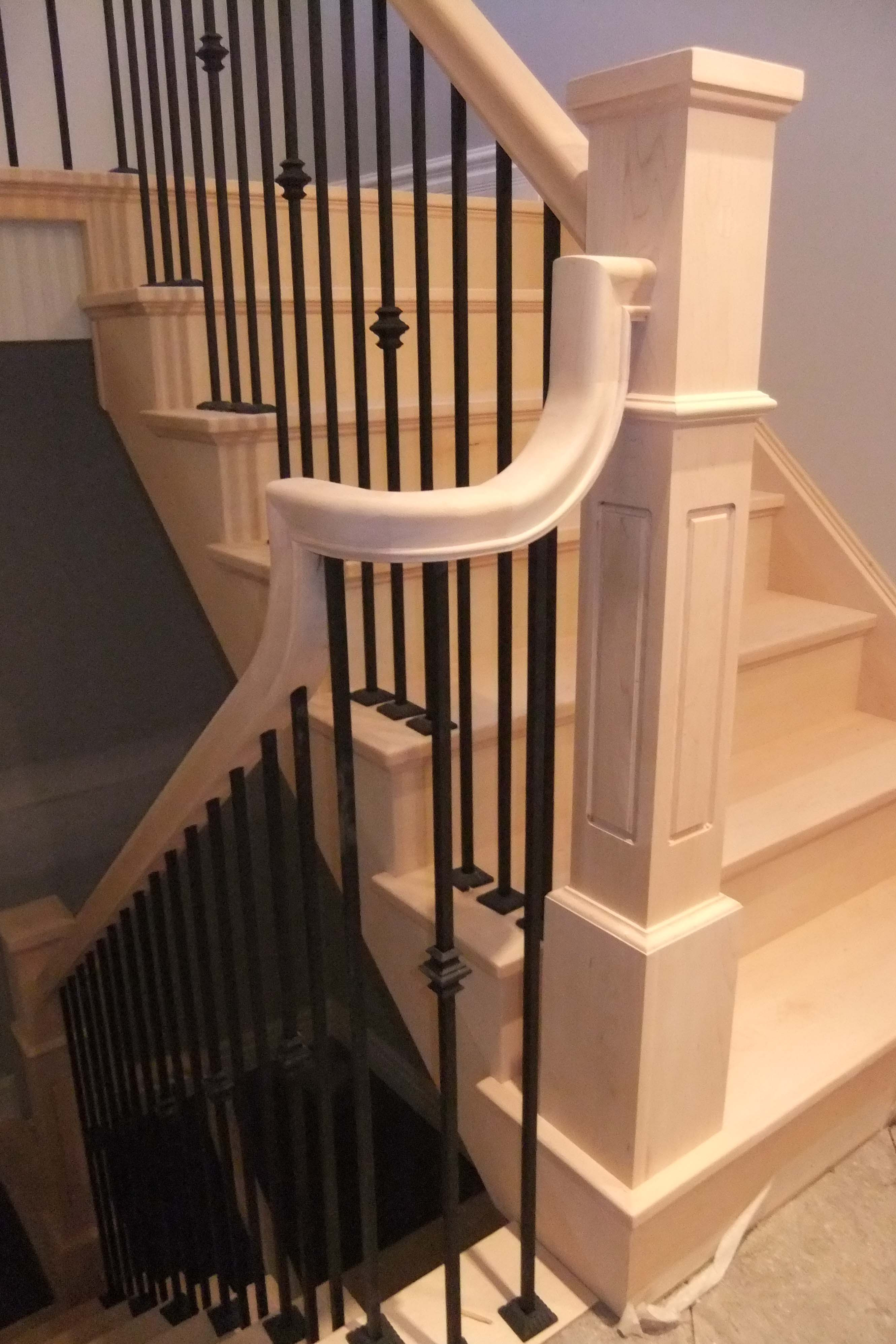 Best ideas about Staircase Railing Code . Save or Pin The Building Code's Impact on the Design of Your Handrail Now.