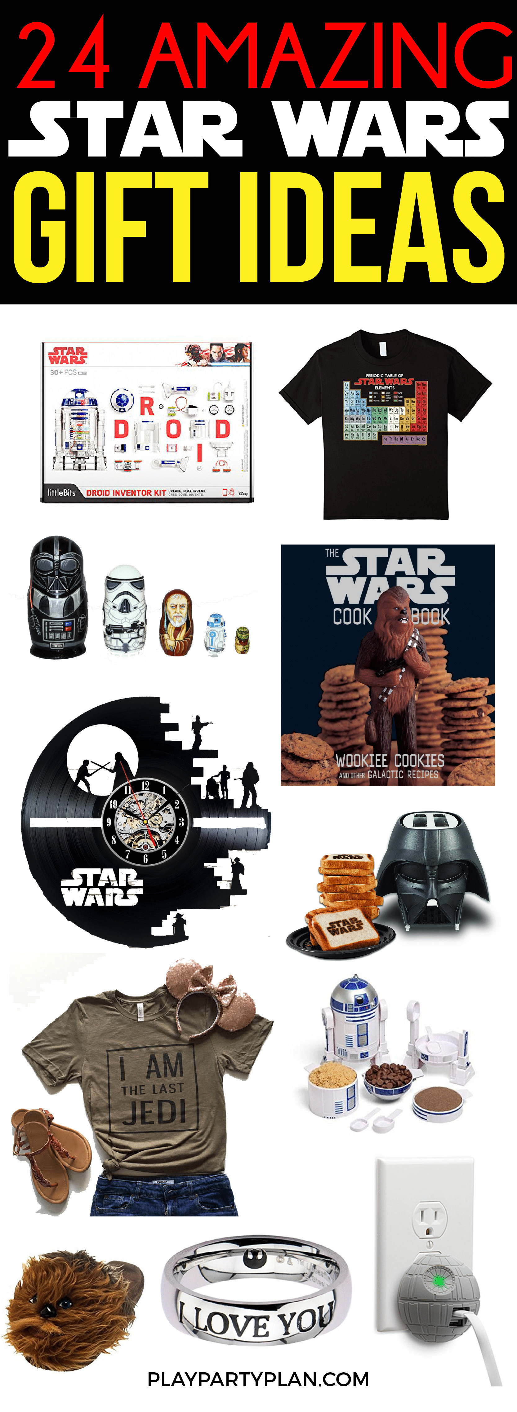 Best ideas about Star Wars Birthday Gifts . Save or Pin 24 Star Wars Gifts that Every Star Wars Fan Wants This Year Now.