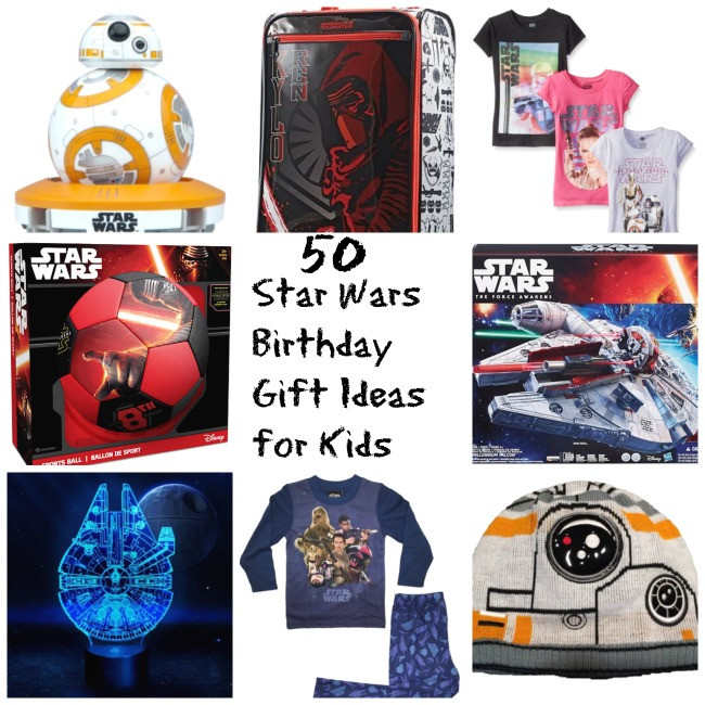 Best ideas about Star Wars Birthday Gifts . Save or Pin 50 Star Wars A Force Awakens Gift Ideas for Kids StarWars Now.