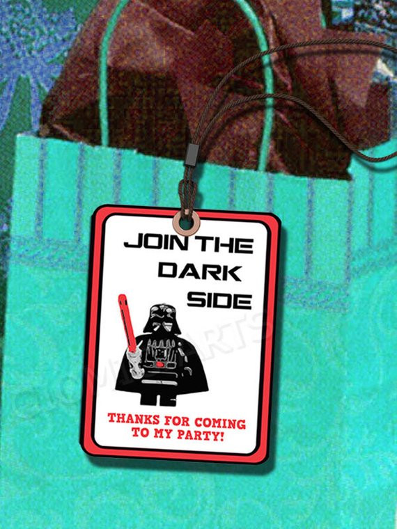 Best ideas about Star Wars Birthday Gifts . Save or Pin Star Wars Party Gift Label or Party Tags DIY by giomiciarts Now.