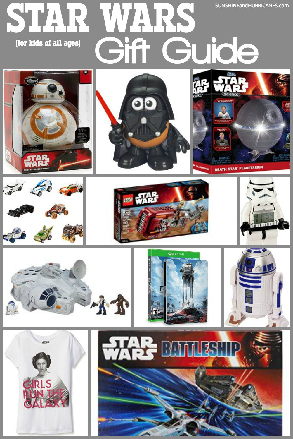 Best ideas about Star Wars Birthday Gifts . Save or Pin Star Wars Gift Guide For Jedis of all Ages Now.