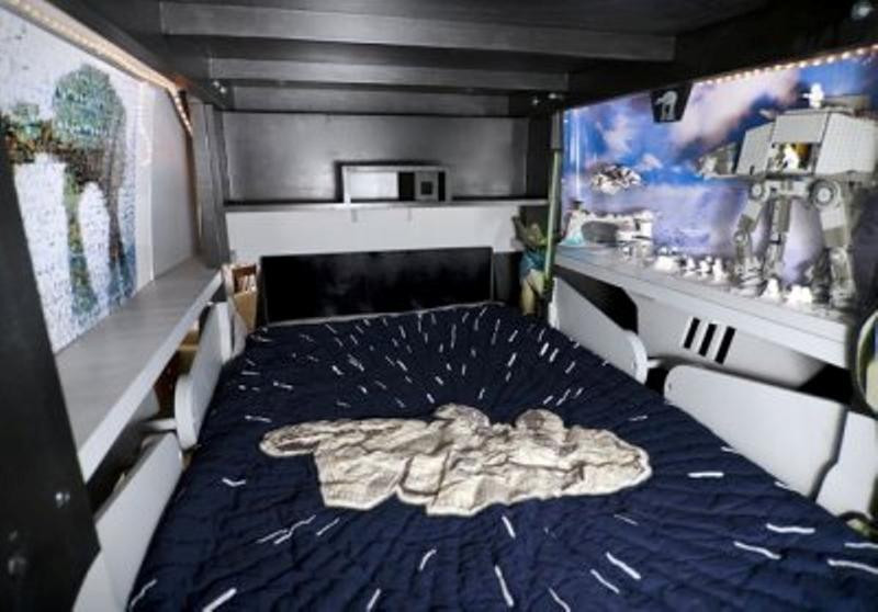 Best ideas about Star Wars Kids Room . Save or Pin 10 Star Wars Bedroom Ideas Rilane Now.