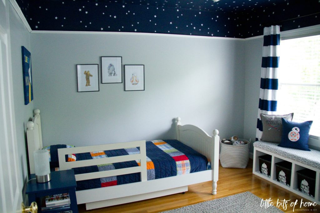 Best ideas about Star Wars Kids Room . Save or Pin Star Wars Bedroom Reveal Now.