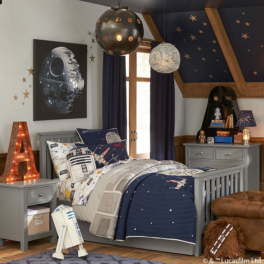 Best ideas about Star Wars Kids Room . Save or Pin Pottery barn kids Star Wars bedroom Now.