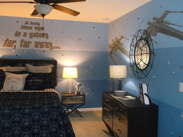Best ideas about Star Wars Kids Room . Save or Pin 20 Awesome Star Wars Room For Little Boys Now.