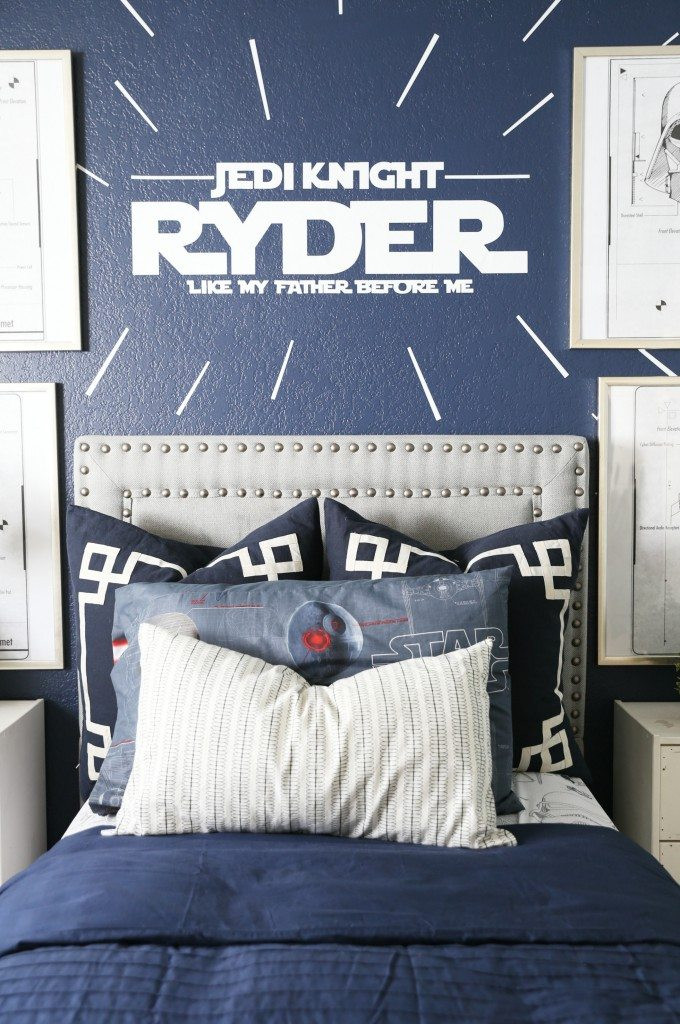 Best ideas about Star Wars Kids Room . Save or Pin Star Wars Kids Bedroom Classy Clutter Now.