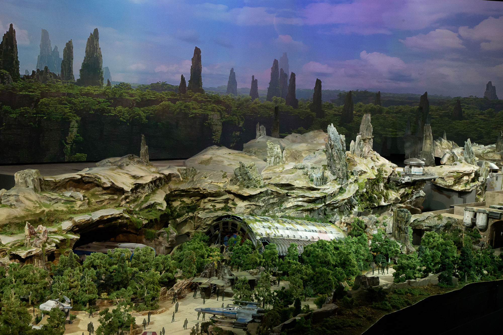Best ideas about Star Wars Landscape . Save or Pin PHOTOS VIDEO Star Wars Land Model at D23 Expo Blog Mickey Now.