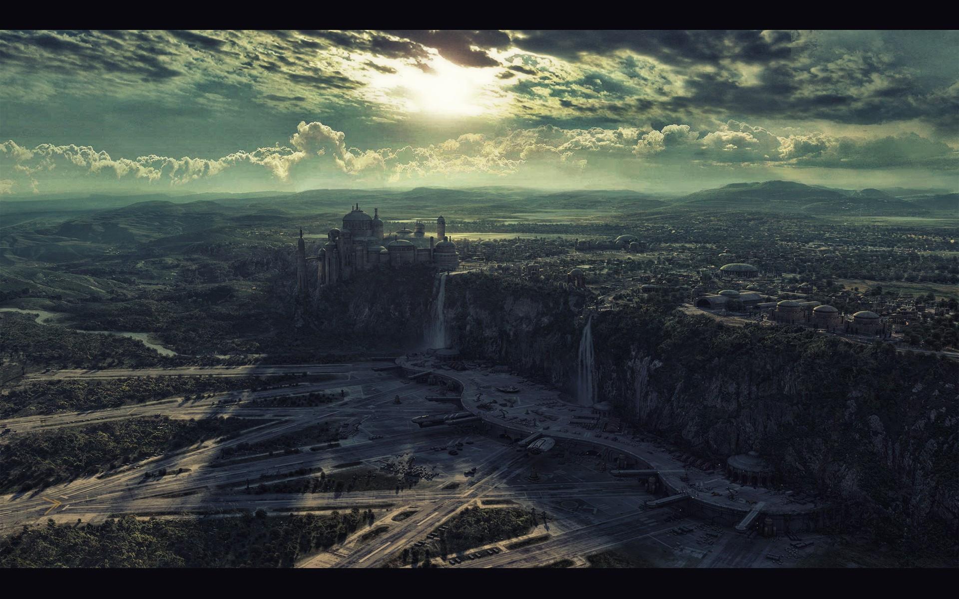Best ideas about Star Wars Landscape . Save or Pin Star Wars Landscape Wallpaper WallpaperSafari Now.
