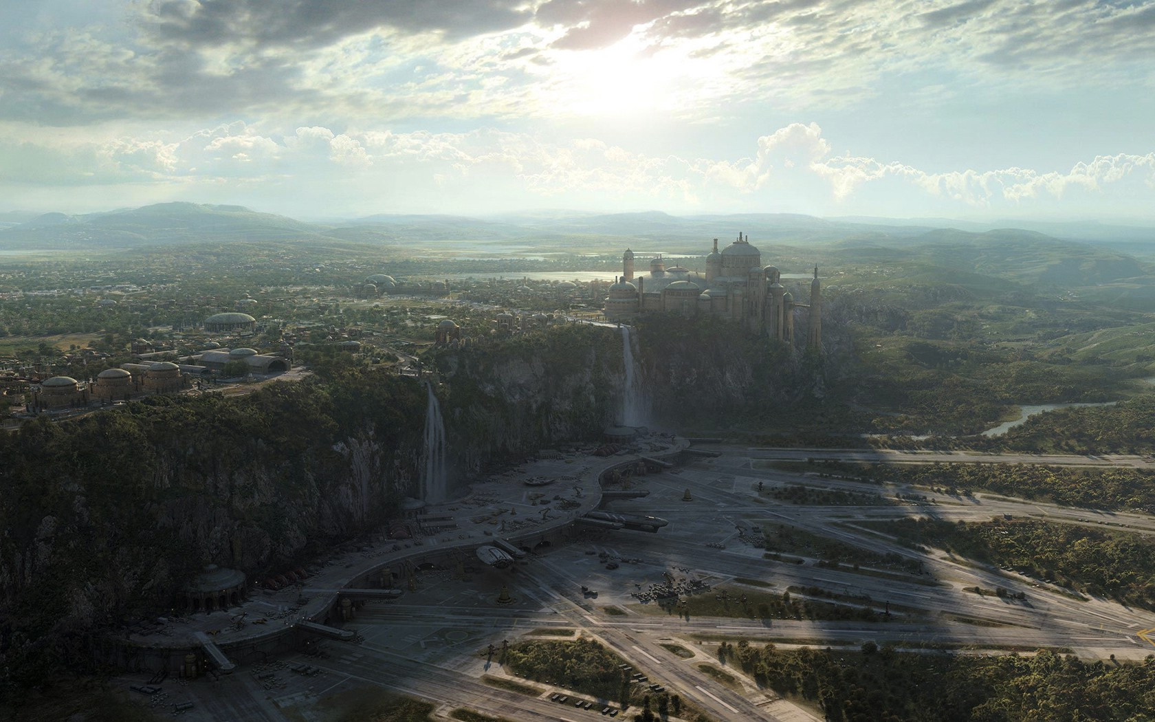 Best ideas about Star Wars Landscape . Save or Pin Star Wars Landscape Manipulation Naboo Wallpapers Now.