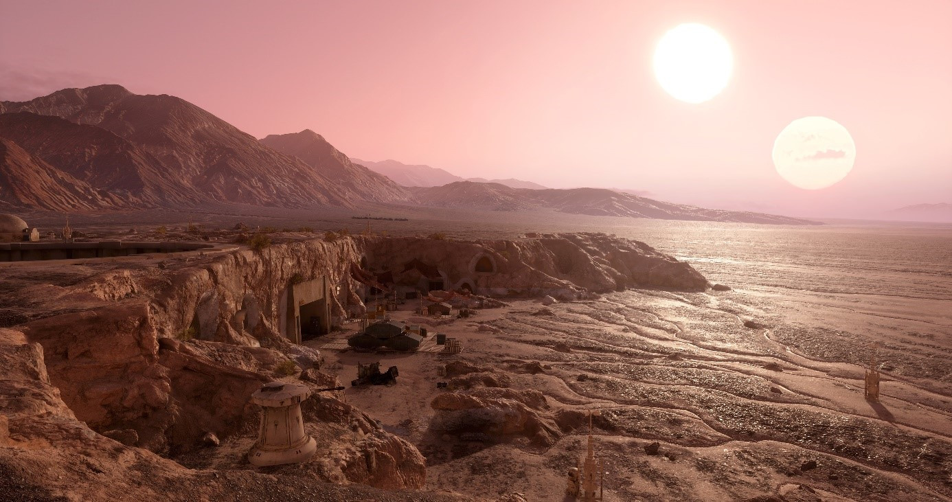 Best ideas about Star Wars Landscape . Save or Pin The Star Wars Battlefront Planets Creating Tatooine Now.