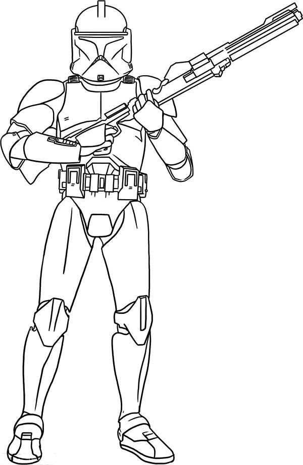 Best ideas about Stormtrooper Coloring Pages For Kids . Save or Pin Star Wars Storm Trooper Coloring Pages Coloring Home Now.