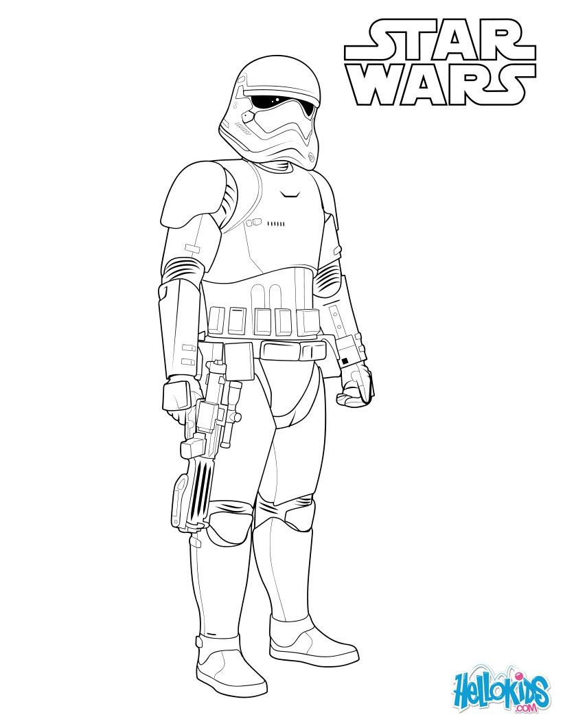 Best ideas about Stormtrooper Coloring Pages For Kids . Save or Pin 37 Stormtrooper Coloring Pages Star Wars Stormtrooper Now.
